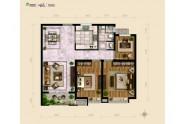林语瑞景,3室2厅1卫,105平米(建筑)