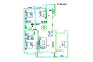 三居室139.43平方米