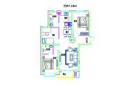 二居室97.19平方米