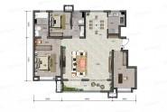 140平米 H户型 三室两厅两卫