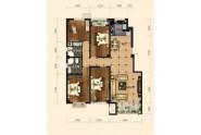 2室2厅1卫,103平米(建筑)