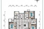 E户型3室2厅2卫